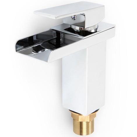 Robinet mitigeur cascade pour lavabo