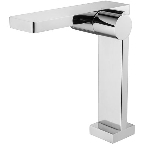Robinet mitigeur corps haut pour lavabo ou vasque NT3220C - finition chromée