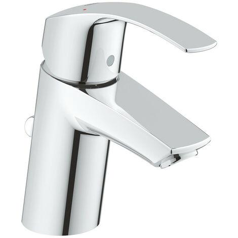 Robinet mitigeur de lavabo Grohe EUROSMART Taille S Chrome 33265002