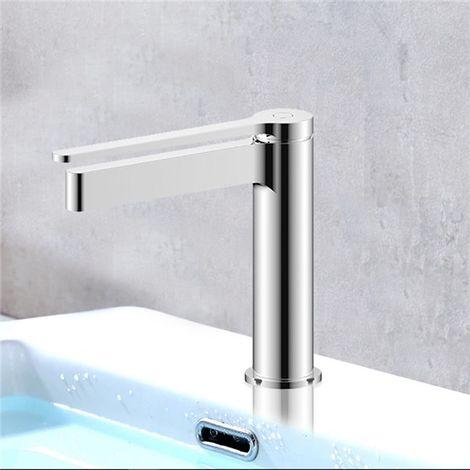 Robinet Mitigeur de lavabo vasque chrome Design cartouche ceramique