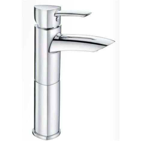 Robinet mitigeur haut pour lavabo et vasque Bonde de vidage push up