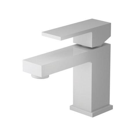 Robinet mitigeur lavabo blanc mat Eden