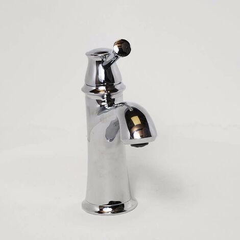 Robinet mitigeur lavabo design - Chromé - Allure