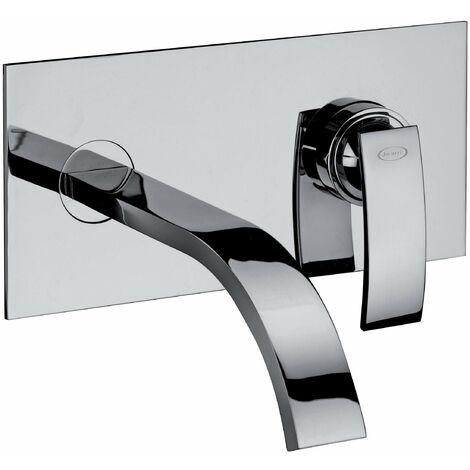 Robinet Mitigeur lavabo encastré jacuzzi rubinetteria glint 0IQ00497JA00 | Chromé