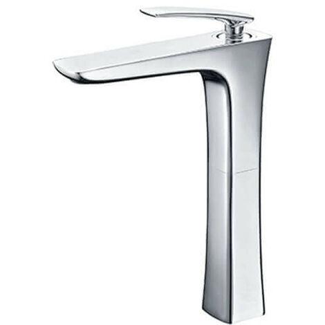 Robinet mitigeur lavabo surélevé - Chromé - Concep't
