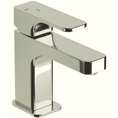 Robinet mitigeur lavabo vasque laiton chrome avec vidage butee eco stop