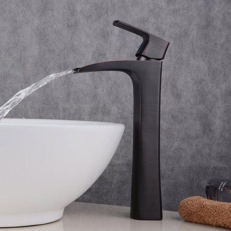 Robinet moderne de Salle de Bains pour Lavabo antique laiton Haut Robinet pour vasque
