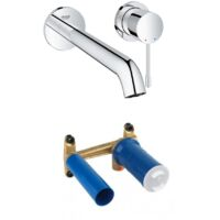 Robinet mural salle de bain Grohe Essence Taille L