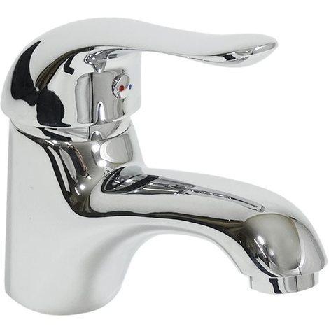 Robinet pour vasque mitigeur de lavabo en laiton chrome