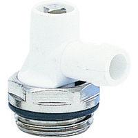 Robinet vidange tete orientable a joint nickelé 1/2