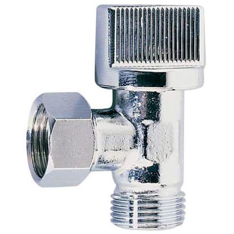 Robinet WC manette 1/4t eq chromé 12x17