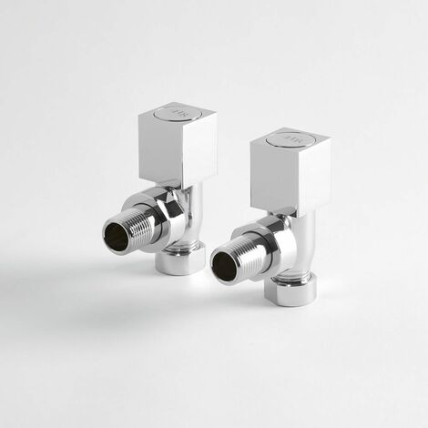 Robinets de radiateur d'Angle Design
