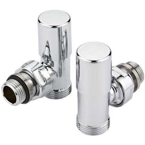 Robinets de radiateur d'angle en laiton - Adaptateur multicouche 14mm