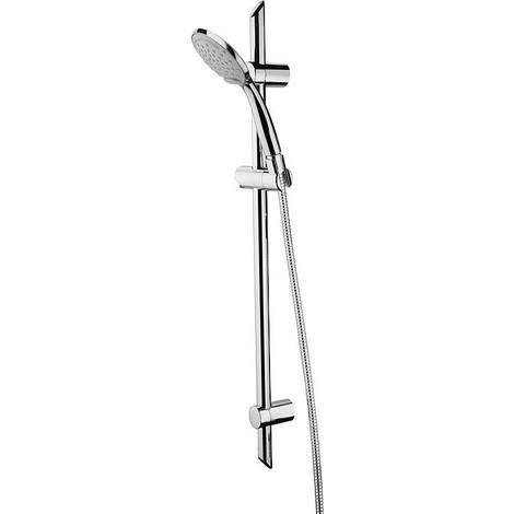 Robinetterie de douche Estada avec douchette et flexible, L 750mm, d 25mm, chromé