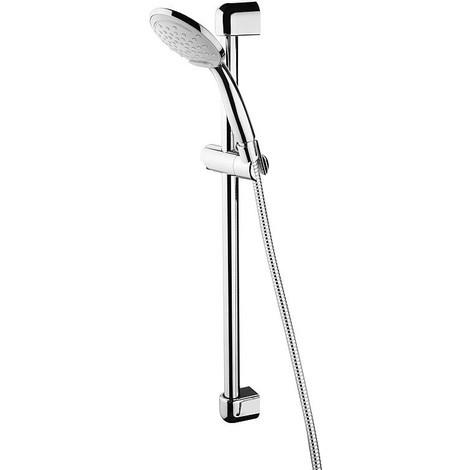 Robinetterie de douche Esti avec douchette et flexible, L600mm d25mm, chromé