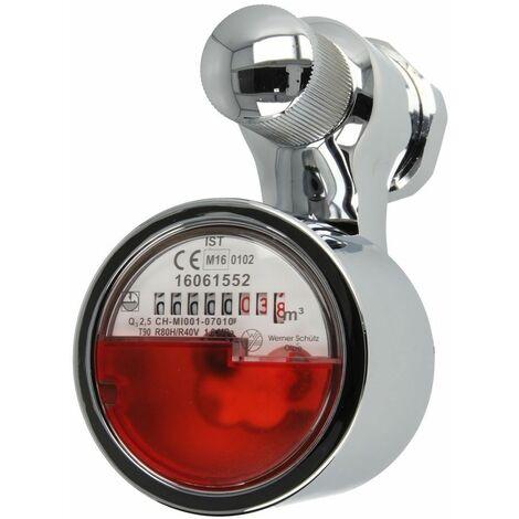 Robinetterie pour compteur 2,5 m³ robinets encastrés jusqu'à 90°C