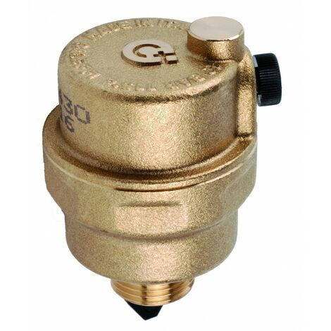 ROBOCAL® - Purgeur d\'air automatique. Purge horizontale Caleffi 5024