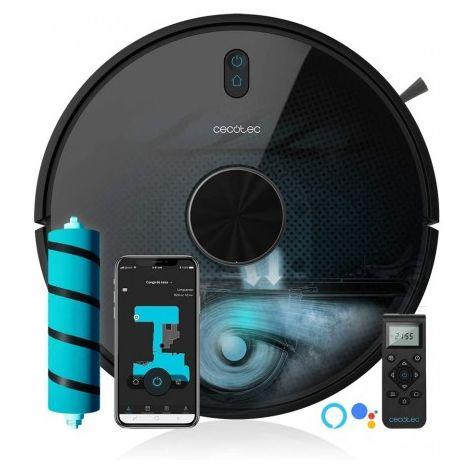 Robot aspirador conga 5490 tecnología láser, app, cepillo especial mascotas