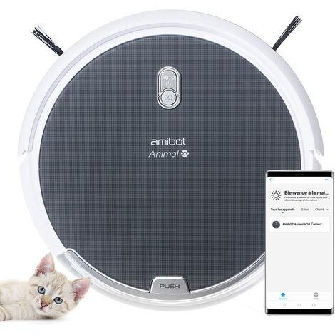 Robot aspirador y friegasuelos AMIBOT Animal H2O Connect
