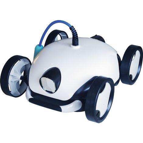 Robot aspirateur de piscine autonome Falcon + HJ1107 - Blanc et bleu