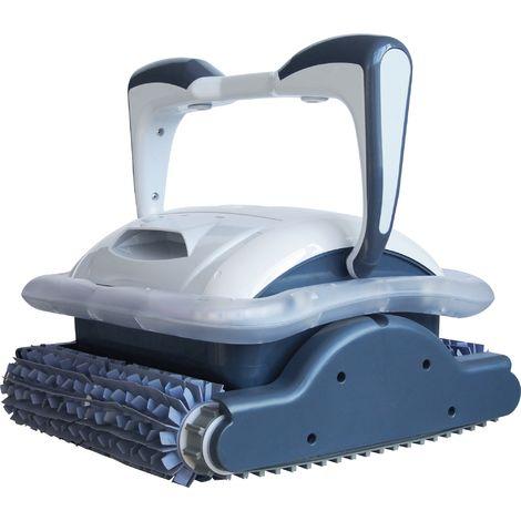 Robot aspirateur de piscine autonome Raptor HJ2032 Bestway - Puissance 200 W - Noir et blanc