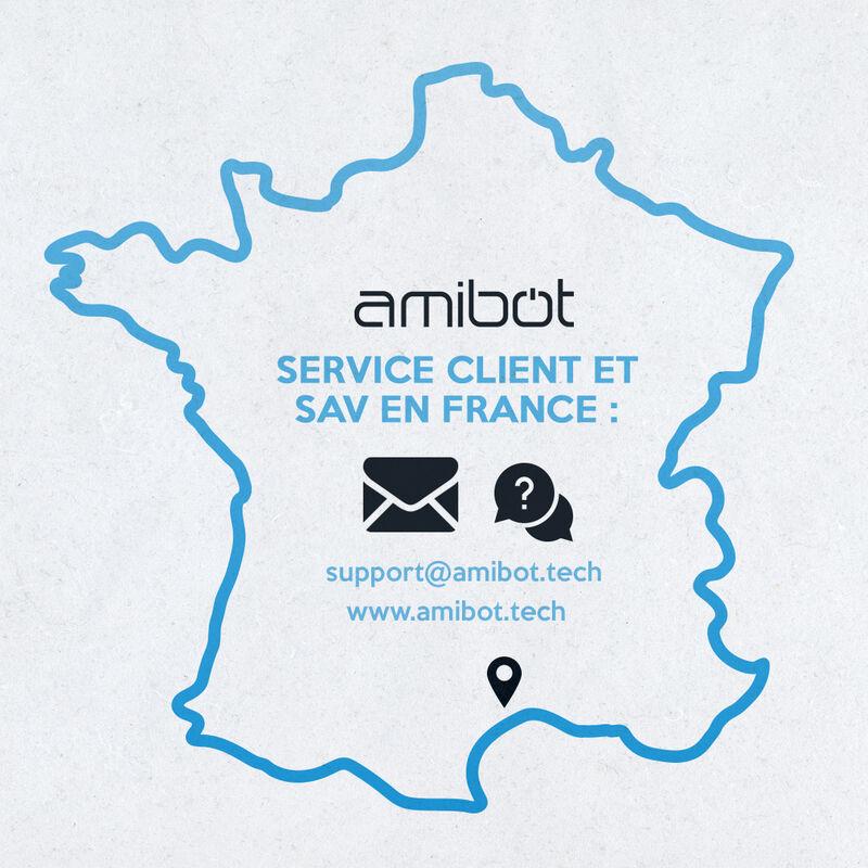 Pieces detachees robot aspirateur amibot Expert 2020