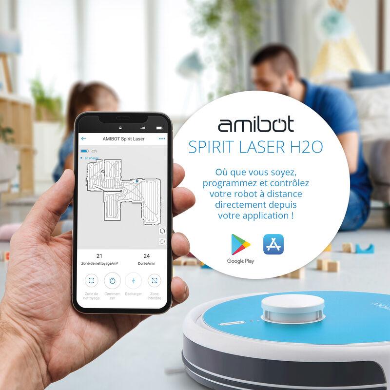 AMIBOT Spirit Laser H2O Robots Aspirateurs et laveurs