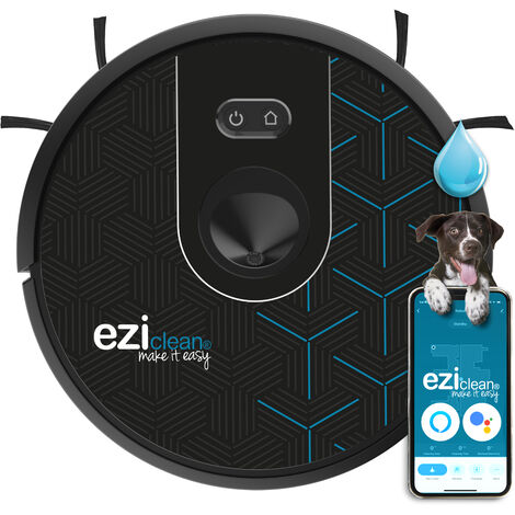 Robot aspirateur laveur connecté EZIclean® Aqua slam 2.0
