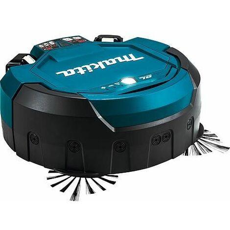robot aspirateur sans fil Makita DRC200Z, 2 x 18 V, sans batterie, sans chargeur