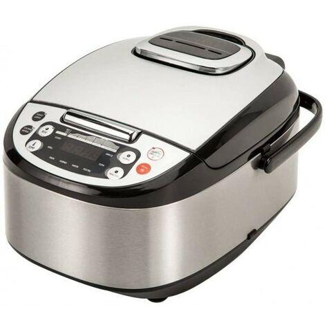 Robot de Cocina Multifunción con Voz,Programable 24h,Capacidad de 5 L.4 Menús Preconfigurados,8 Progr Automáticos Max.180ºC