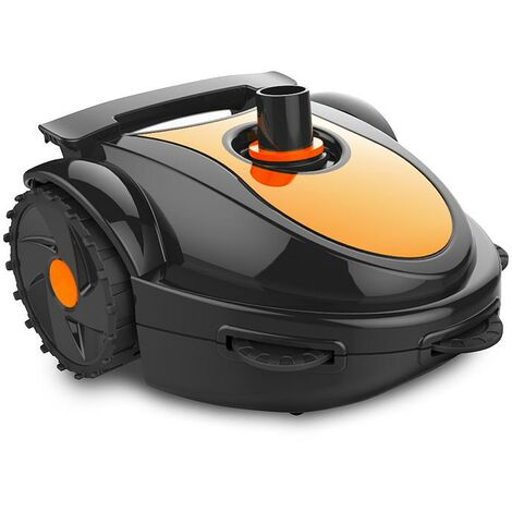 Robot de limpieza de piscinas automático ultra silencioso con sistema hidráulico ideal para piscinas subterráneas y fuera de suelo de hasta 3mt
