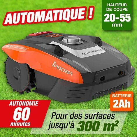 Robot de Tonte - Batterie 20 V - surface 300M2 - avec câble de guidage