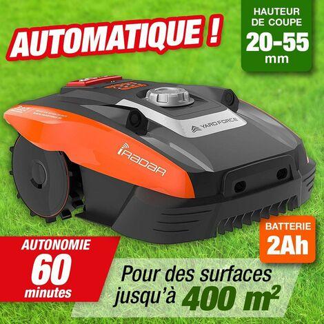 Robot de Tonte - batterie 20 V - surface 400M2 - avec câble de guidage