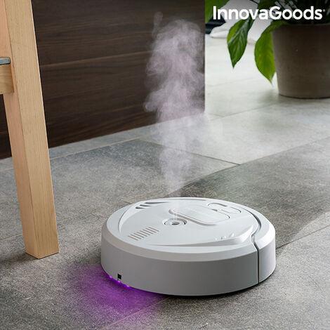 """main image of """"Robot Lavapavimenti Ricaricabile 4 in 1 con Disinfezione UV e Umidificatore Diffusore di aromi Klinbot InnovaGoods"""""""