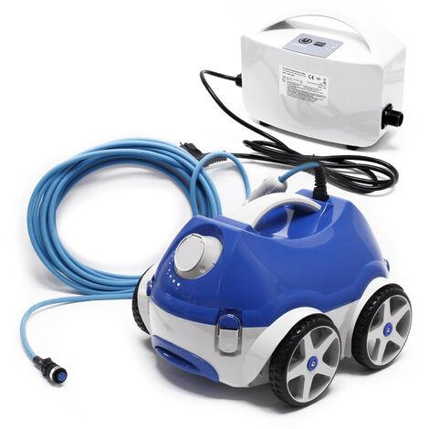 Robot limpiador de piscina Naia HJ1009, limpiafondos automático hasta 150 m², aspirador 15m³/Std