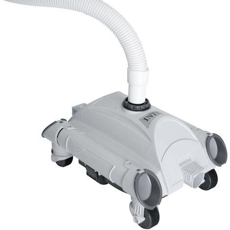 Robot nettoyeur de piscine - Intex - Filtration de 4.54 m3/h à 13.25 m3/h - Livraison gratuite