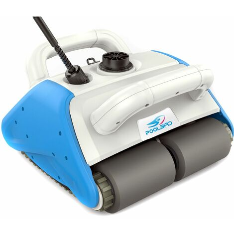 Robot piscine poolbird avec coffret électrique, batterie flottante et chariot
