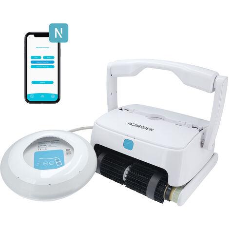 Robot piscine sur batterie NOVARDEN NSR250b Agil e-Control - Blanc