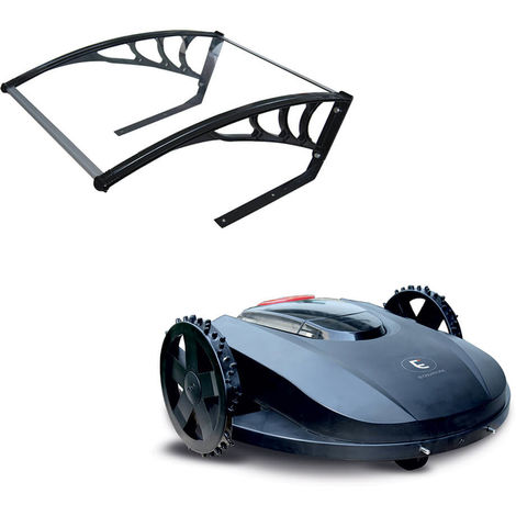 Robot tondeuse autonome pour jardin jusqu'à 1000m² - Extel Easymate GARDEN 1000 - Tondeuse + Abri
