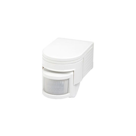 Robus Motion Detector 180°, 10 Seconds 10 Minutes, IP44, White