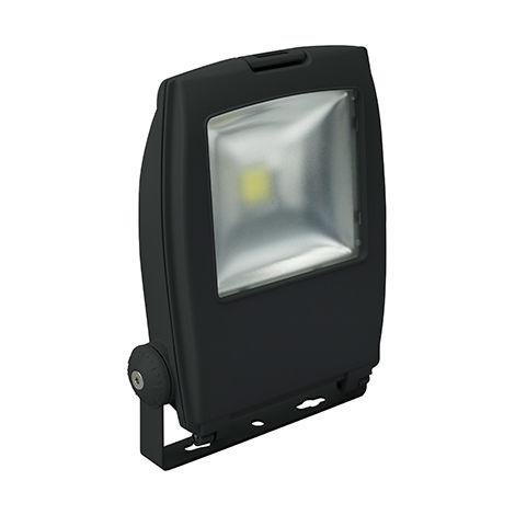 Robus Olympic 10W LED Flood Light, IP65, Black, 3000K