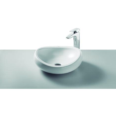 ROCA A327225000 Urbi 1 Lavabo De Porcelana De Sobre Encimera