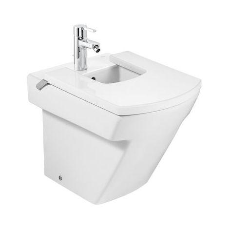 ROCA Bidé de porcelana compacto - Serie Hall , Color Blanco
