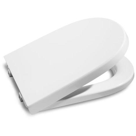 Tapa y aro para inodoro compacto - Serie Meridian , Color Blanco - Roca