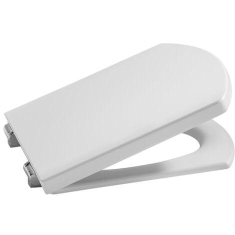 ROCA Tapa lacada y aro para inodoro compacto - Serie Hall , Color Blanco