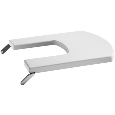 ROCA Tapa lacada para bidé compacto - Serie Hall , Color Blanco
