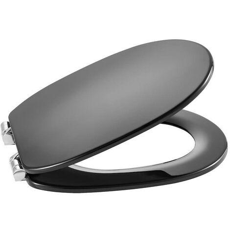 ROCA A801B5238B CARMEN asiento para inodoro con caída amortiguada gris