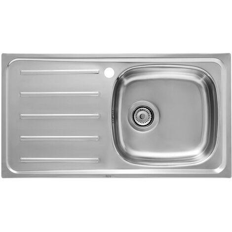 ROCA A870F40901 Fregadero de 1 Cubeta Escurridor Izquierda