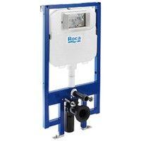 ROCA A890080000 Duplo Wc Compact Cisterna Empotrada | Madera Blanca