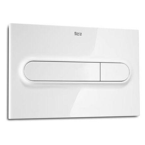 ROCA A890095000 Pl1 Dual Pulsador Blanco